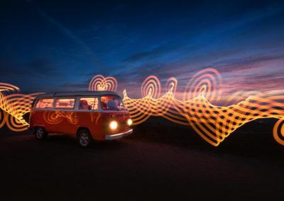 Pixelstick VW Camper