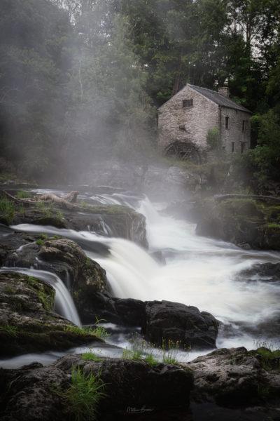 Misty Cenarth Falls