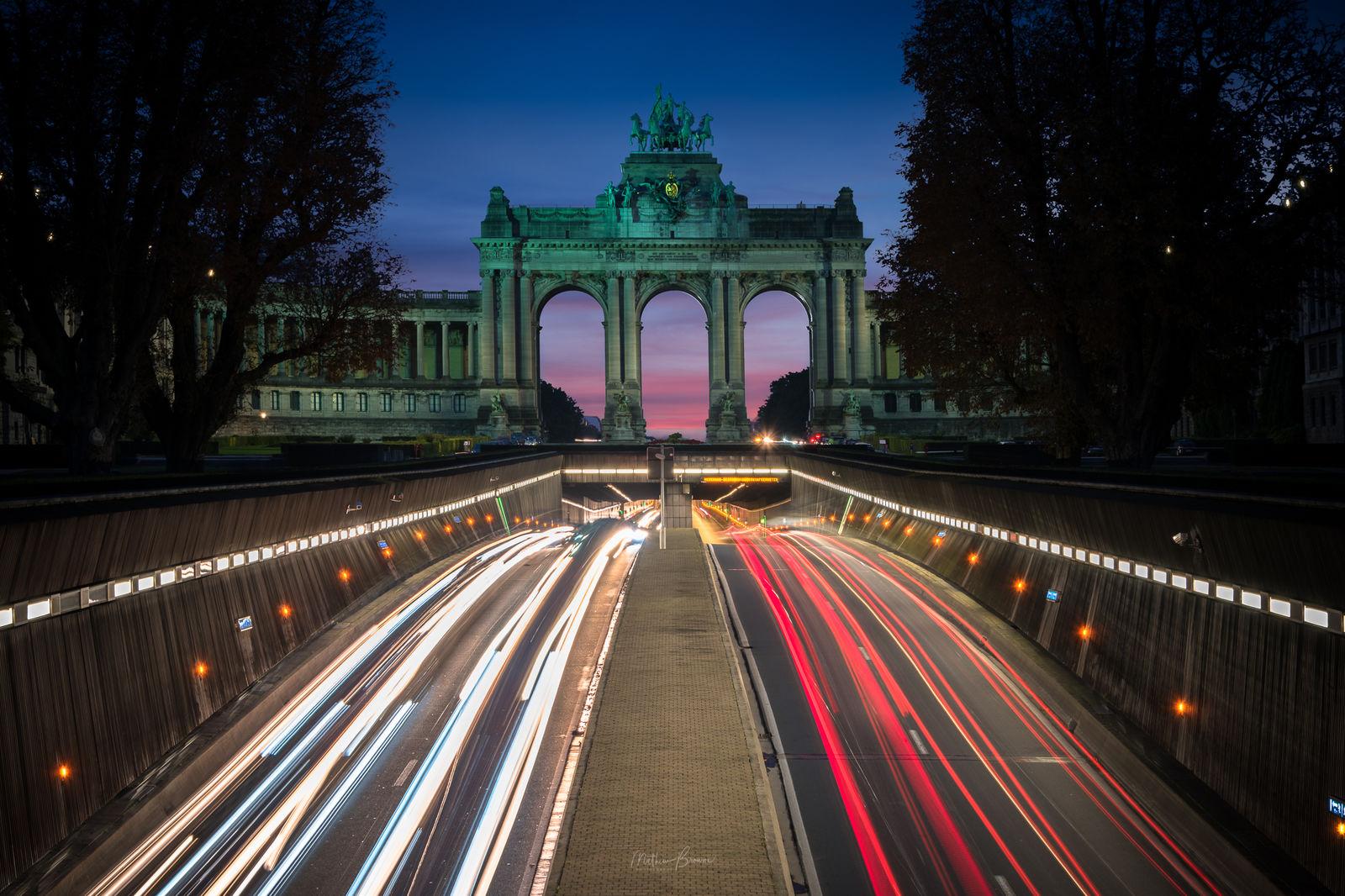 Cinquantenaire / Jubelpark - Brussels, Belgium