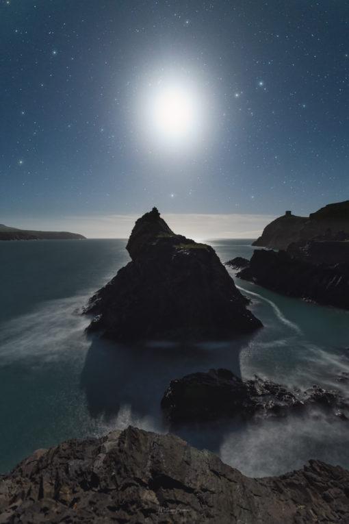 Moonlit Abereiddy
