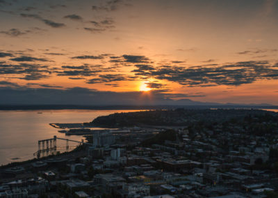 Sunset from the Space Needle